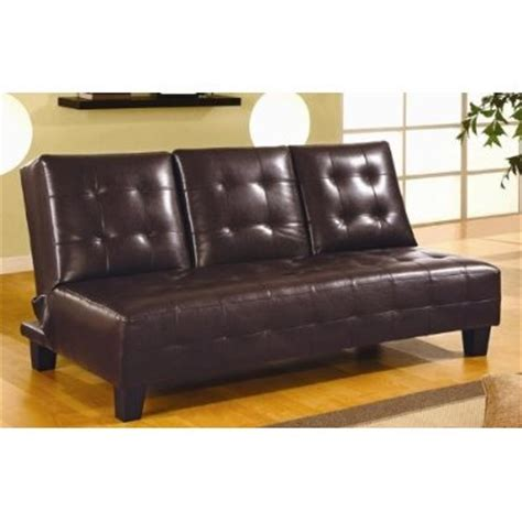 black leather sofa bed with cup holder leather sofa futon sofa bed with cup holders in black