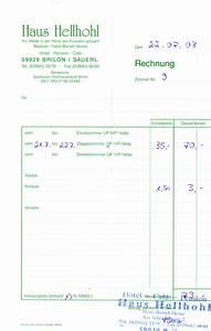 Rechnung übernachtung Vorlage : trekkingbike ~ Themetempest.com Abrechnung