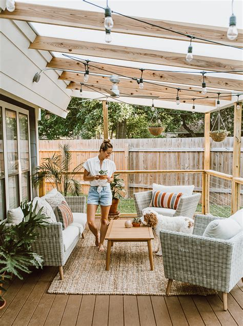 Best Patio Decor by Before After Our Patio Reveal Livvyland