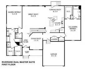 house plans with in suite house plans with dual master suites