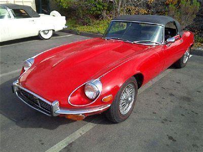 car jaguar fantastic sell used 1972 jaguar xke roadster series 3 fantastic