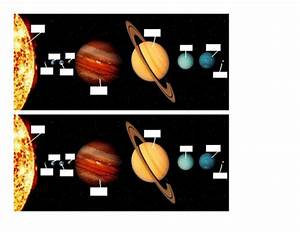 Label The Solar System Worksheet By Brynmarshall - Teaching Resources