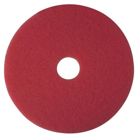 3m 17 in red buffer pads 5 per carton mmm08392 the