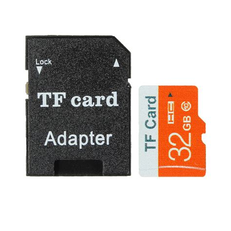 32gb Micro Sd Tf Secure Digital High Speed Flash Memory Card Class 10 With Adapter Alexnldcom