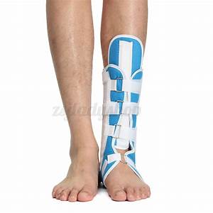 Blue Foot Calf Ankle Splint Support Brace Walking Boot