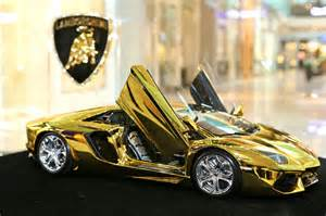 Gold Lamborghini Diamond