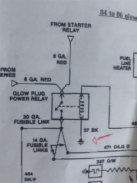 Glow Plug Relay Wiring Easy One Diesel Forum