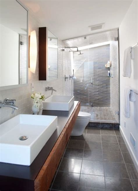 Narrow Bathroom Remodel Ideas