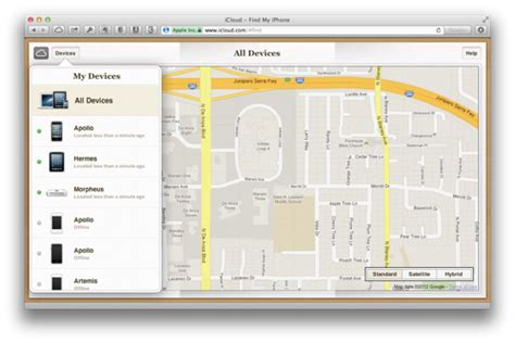 find my phone through using find my iphone from a pc or mac ilounge article