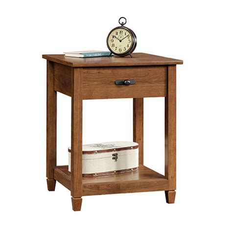 sauder edge water side table sauder edge water side table auburn cherry boscov 39 s