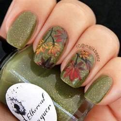Autumn acrylic nail art designs ideas fall