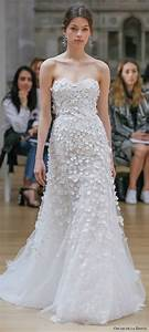 oscar de la renta spring 2018 wedding dresses new york With oscar de la renta wedding dresses