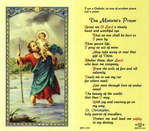 Saint Christophe Patron : safe travels to you today and always my friend prayers and inspsirations pinterest ~ Medecine-chirurgie-esthetiques.com Avis de Voitures