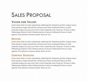 Sales Proposal Template  13+ Download Free Doents in PDF, Word