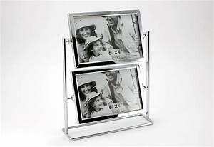 Bilderrahmen Für 4 Bilder : bilderrahmen drehbar 4 fotos 10x15 cm metall silber glas fotogalerie fotorahmen ebay ~ Watch28wear.com Haus und Dekorationen