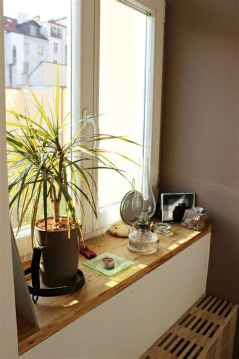 mit fotos dekorieren 1001 tolle ideen f 252 r fensterbank aus holz in ihrem zuhause