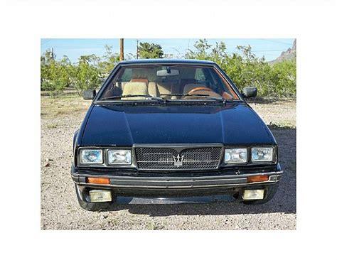 1987 Maserati Biturbo For Sale by 1987 Maserati Biturbo For Sale Apache Junction Arizona