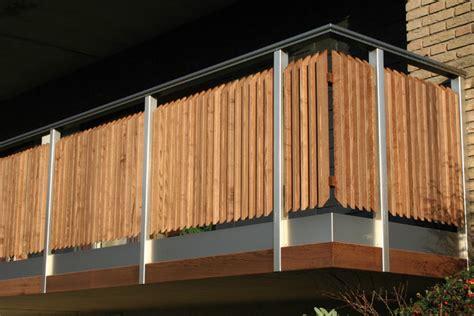 balkongeländer holz modern wunderbare balkongel 228 nder holz modern in holzbalkon