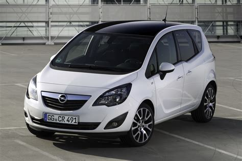 opel meriva opel launches meriva color edition special in germany