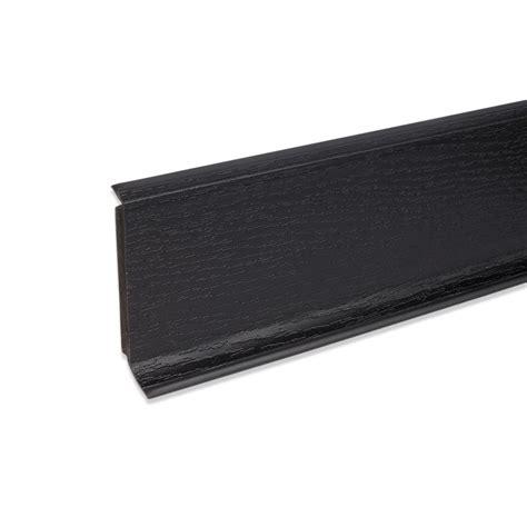 winkelprofil kunststoff schwarz hartschaum sockelleiste fu 223 bodenleiste aus kunststoff in