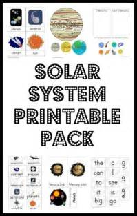 solar system printable pack worksheets printables for