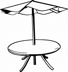 Table Clip Art Black And White | Clipart Panda - Free ...