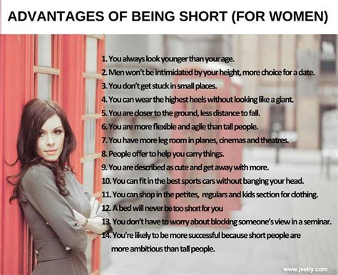 Jeetly Blog Advantages Being Short For Women
