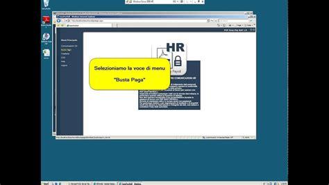 hr portal interfaccia  il dipendente del portale web