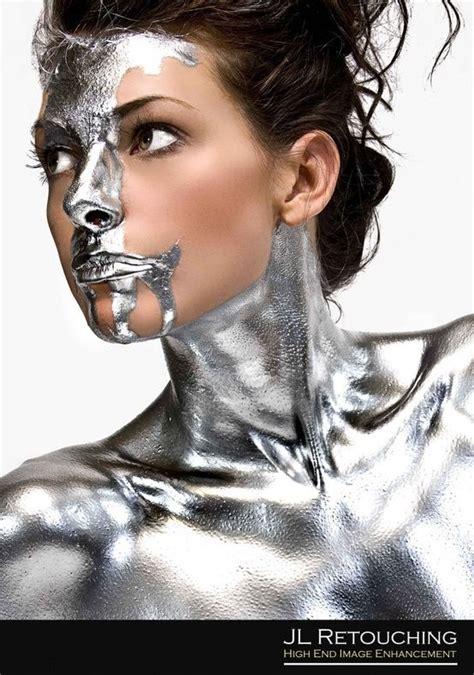 Silver Body Paint!!!  Metallic Pinterest