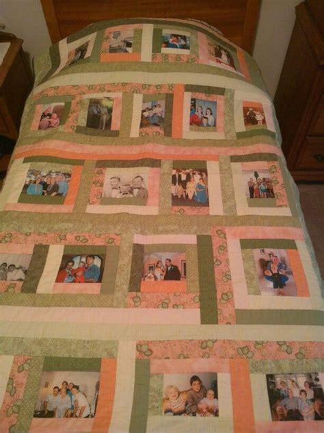 photo quilt family memories quilt design ideas