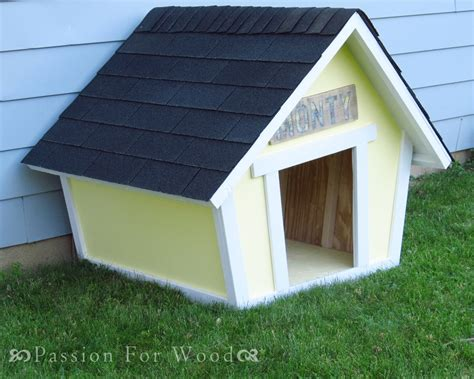 ana white crooked doghouse diy projects