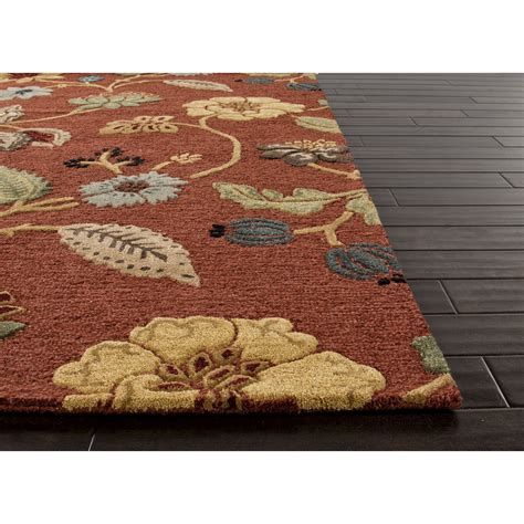 patterned area rugs jaipur rugs transitional floral pattern multi wool