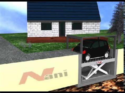 Nani Verladetechnik  Autolift  Versenkbare Garage Youtube