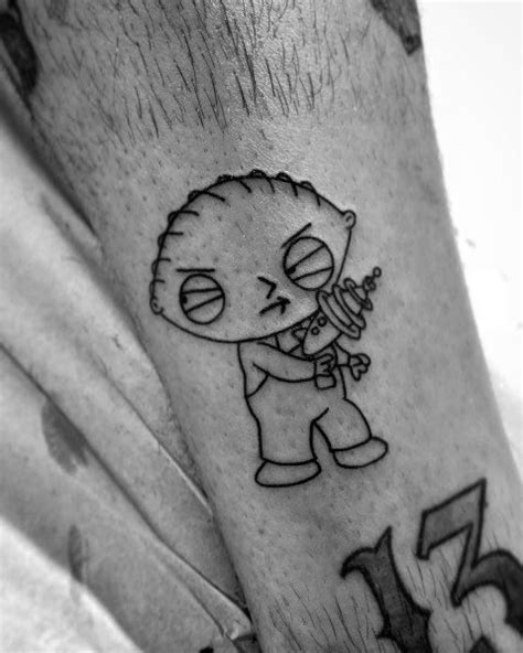70 Family Guy Tattoo Ideas For Men - Animated Designs