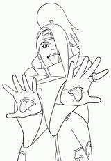 Naruto Drawing Coloring Pages Popular Print sketch template