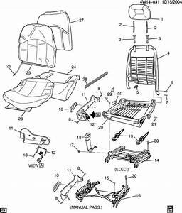 Pontiac Grand Prix Spring  Front Seat Cushion  Springdseat