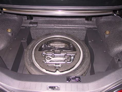spare tire options for the 2009 and later infiniti g37 convertible