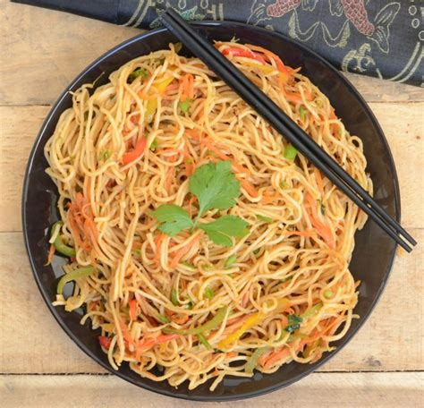 hakka cuisine recipes hakka noodles recipe how to hakka