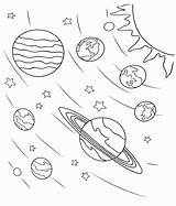 Coloring Galaxy Space Planet Solar Printable System Planets Sun Cat Cartoon Stars Worksheets Bestcoloringpagesforkids sketch template