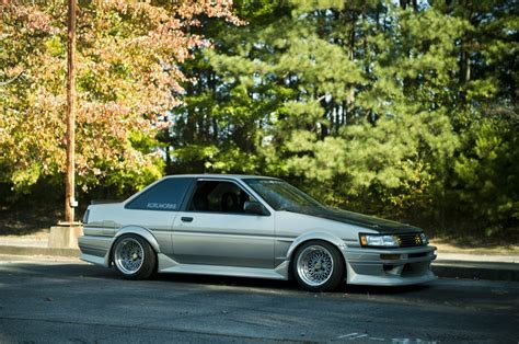 stance toyota car toyota corolla ae86 stance tuning jdm old
