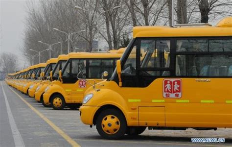 School Bus Production Line In C. China