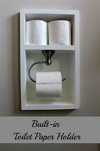 Turtles and tails recessed toilet paper holder aka for Placement of toilet paper holders in bathrooms