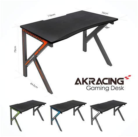 akracing gaming desk white akracingnz