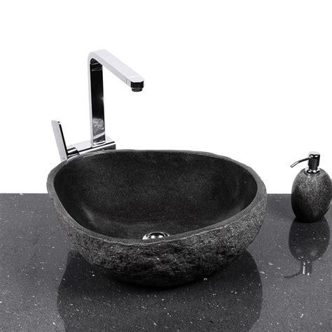 naturstein waschbecken steinwaschbecken naturstein waschbecken 40 cm innen poliert
