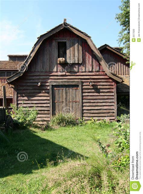 shed stock photo image  americana barn rural