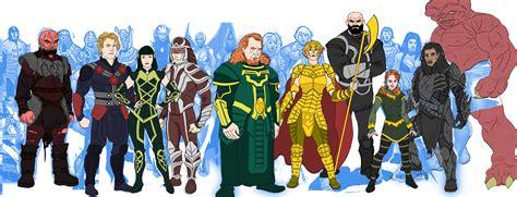 Eternals Marvel Movie Universe Redesigns By Needham-comics
