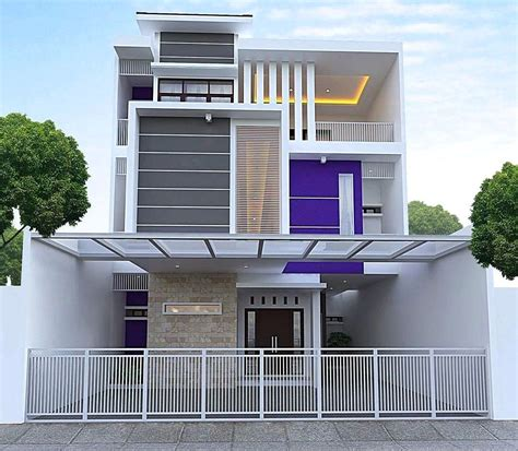 Ragam ⭐ inspirasi warna cat rumah minimalis anti mainstream yang wajib kamu coba ! 15 Warna Cat Dinding Luar Rumah Yang Cerah 2020 | Dekor ...
