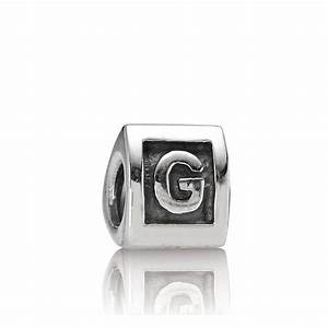 pandora letter g alphabet charm pandora from gift and With letter g charm