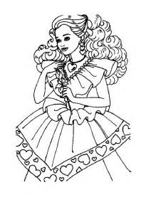 Barbie Princess Coloring Pages Printables