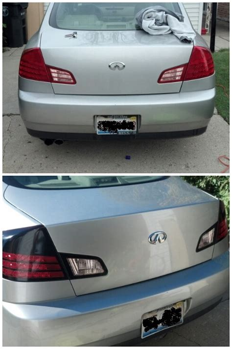 Tinted Tail Lights by Tinted Tail Lights G35driver Infiniti G35 Amp G37 Forum